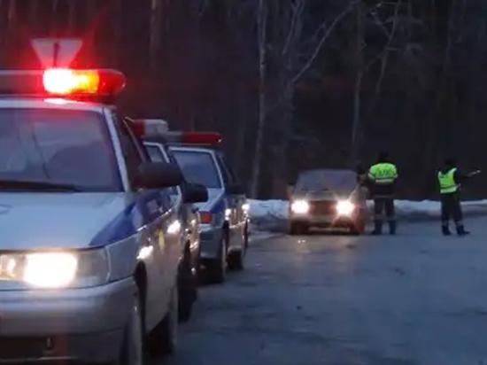 В Екатеринбурге на Объездной дороге столкнулись восемь автомобилей