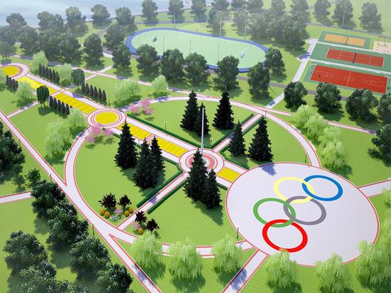 В Олимпийском парке Тамбова предложили создать спортивную аллею