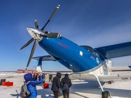 В Якутии презентовали новый российский самолет