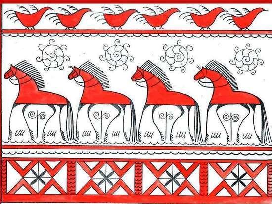 Мезенская роспись покорила Италию
