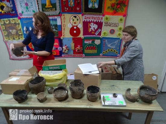 В Тамбовскую область привезли артефакты возрастом в 4 тысячи лет