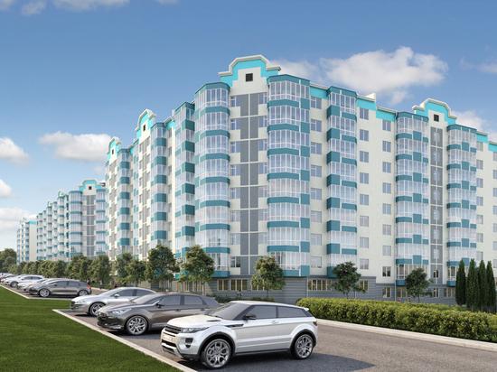 В Алуште возводится жилой комплекс по госпрограмме «Жилье для российской семьи»
