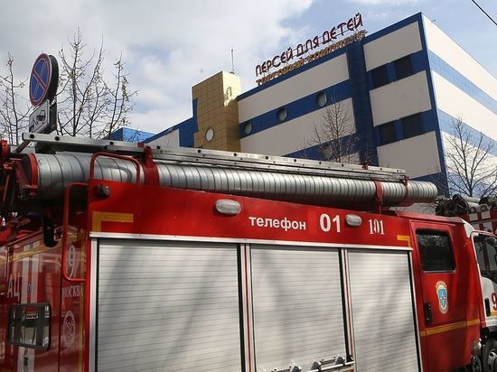 "СМИ: названа причина пожара в ТЦ ""Персей"""