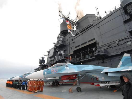 ВСША «Адмирала Кузнецова» признали худшим авианосцем вмировой истории