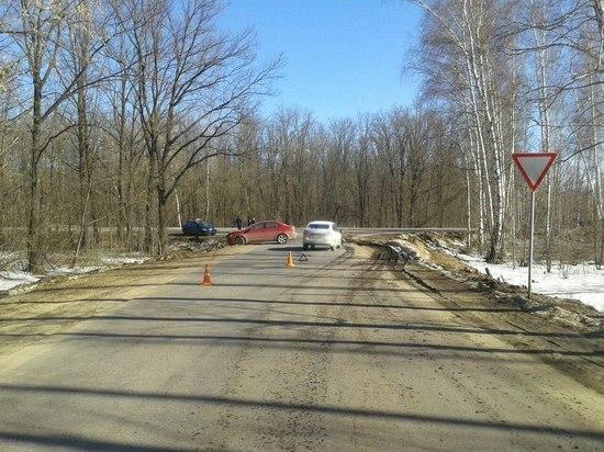 На трассе в Тамбовской области столкнулись