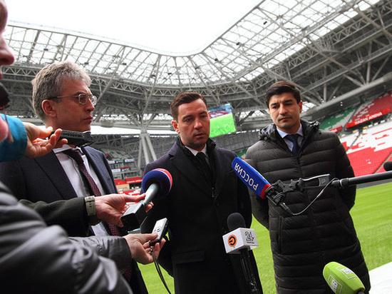 «Казань Арена» готова к чемпионату мира по футболу на 95 процентов