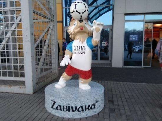 Возле ТЦ «Парк Хаус» в Самаре появился Волк Забивака