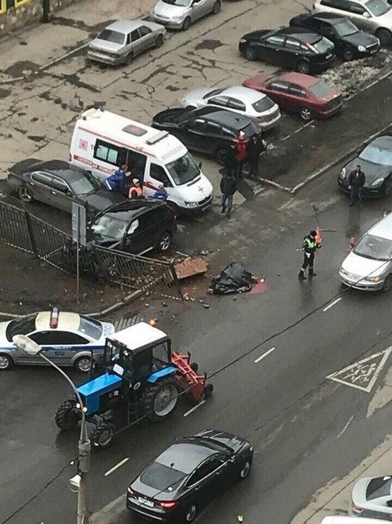 Лихач, сбивший дворника в Москве, свалил вину на полицию