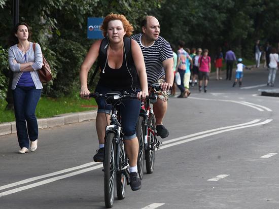 В центре Москвы появятся 30 новых велодорожек
