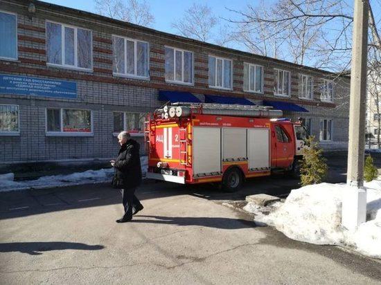 В Ульяновске из-за задымления из детского сада эвакуировали 102 ребенка и 14 работников