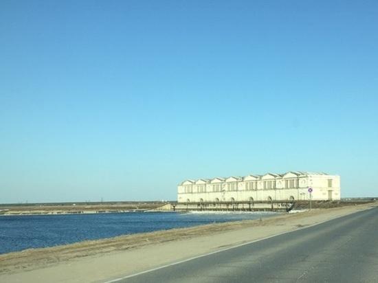 В районе Рыбинского гидроузла началось половодье