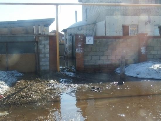 Около Тольятти затопило 20 приусадебных участков и10 домов
