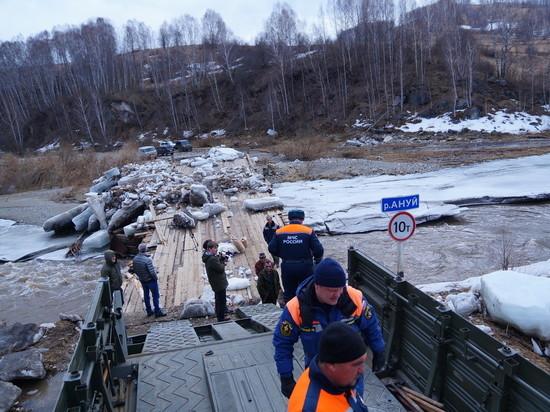 1,5 тысячи человек задействованы в ликвидации последствий паводка