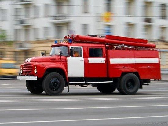 В Тольятти дети устроили пожар на балконе