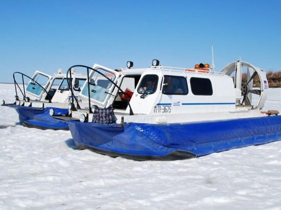 Через реку Лену будут курсировать суда на воздушной подушке