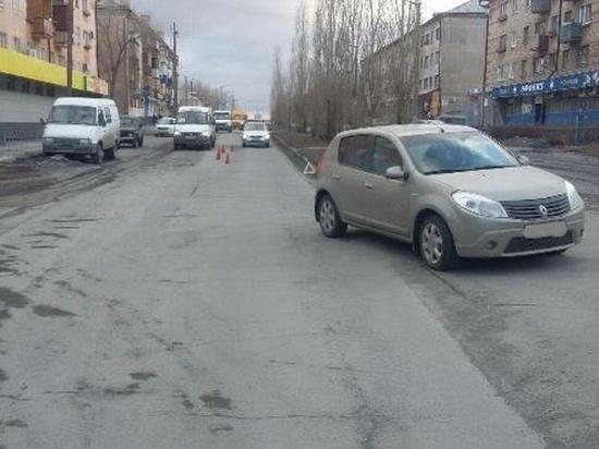 В Новотроицке школьника сбила иномарка