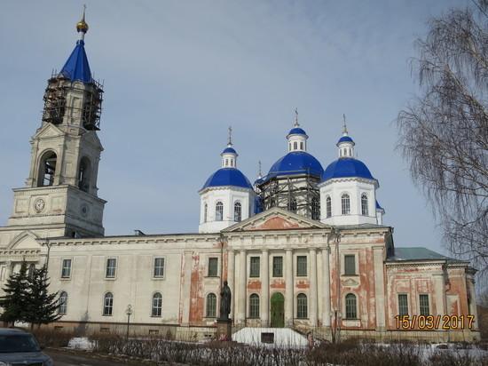 Самый большой храм в Тверской области находится в Кашине