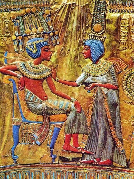 Обнаружена предполагаемая гробница жены Тутанхамона