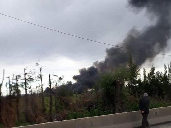 В Алжире упал военный самолет: более 200 погибших