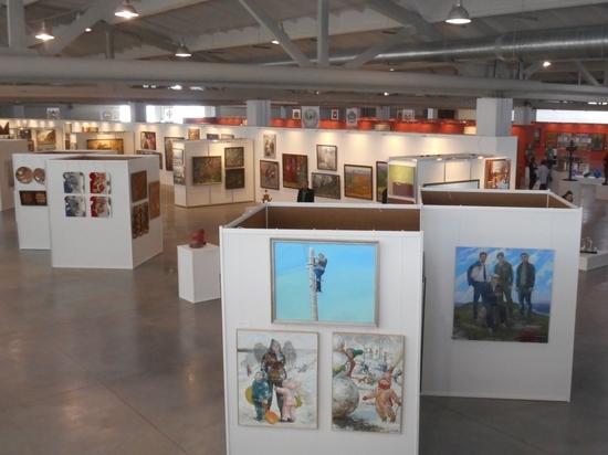 В Новокузнецке открылась крупнейшая в истории Кузбасса художественная экспозиция.