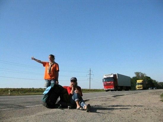 Девушки из Воронежа намотали тысячи километров автостопом