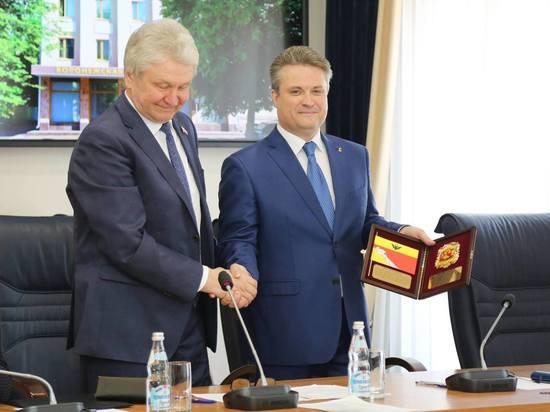 Вадим Кстенин официально вступил в должность мэра Воронежа