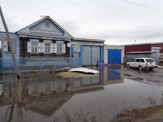 ВБатыревском районе подтоплено 4 населенных пункта
