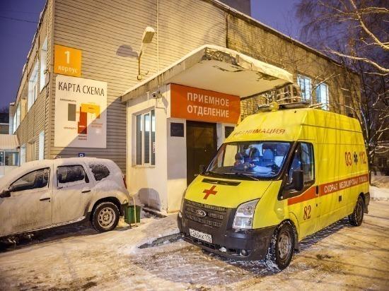 В Ульяновске столкнулись «девятка» и «КАМАЗ»