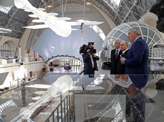 Вцентре «Космонавтика иавиация» наВДНХ заработал «Космодром будущего»