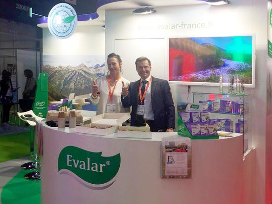 «Эвaлар» впервые принял участие в фармвыставке в Париже