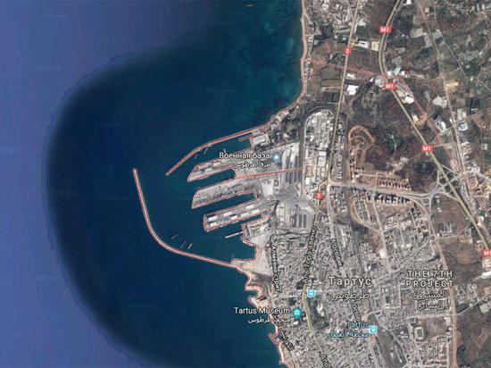 Русские боевые корабли срочно покинули базу вСирии