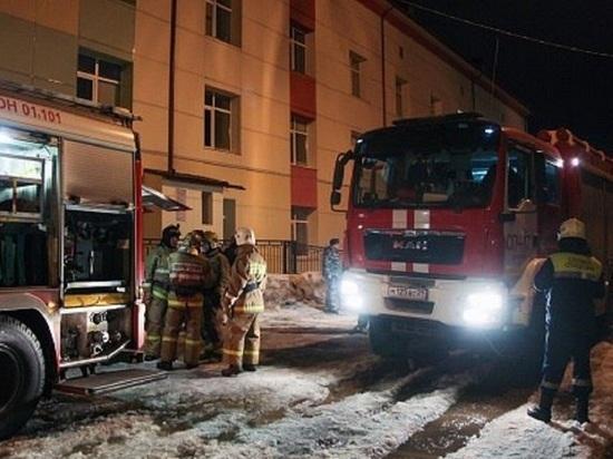 Пожар в Архангельской детской областной больнице