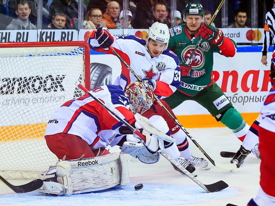 Хоккейный «АкБарс» 14апреля начнет заключительную серию Кубка Гагарина