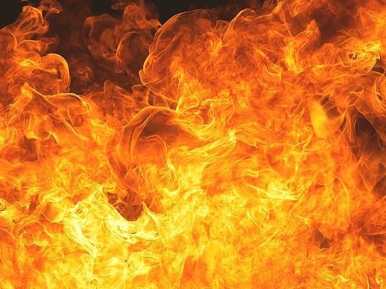 В Оренбурге ночью в 17-этажном доме вспыхнул пожар