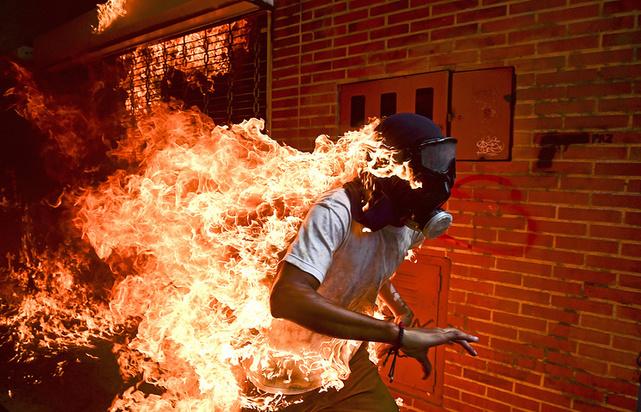 Главный приз World Press Photo 2018 получил фотограф изВенесуэлы