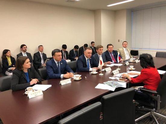 Владимир Афонский в составе официальной делегации Госдумы прибыл в Японию
