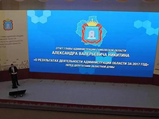 Глава администрации Тамбовской области назвал состояние дорог проблемой номер один