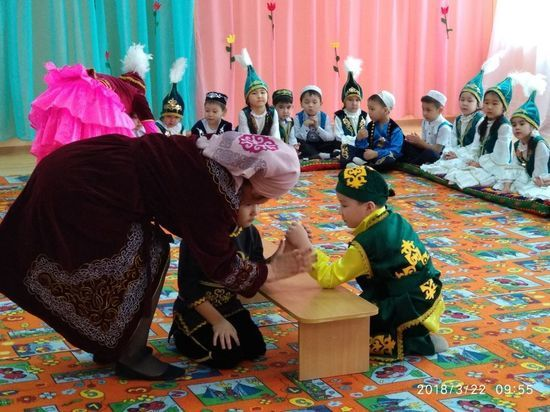 В Бирюковской школе прошёл весенний праздник Наурыз