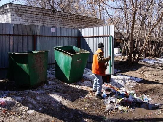 Из Куйбышевского района Самары начали вывозить мусор