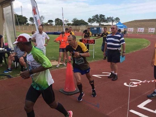 Екатеринбуржец установил рекорд мира на дистанции в 100 миль