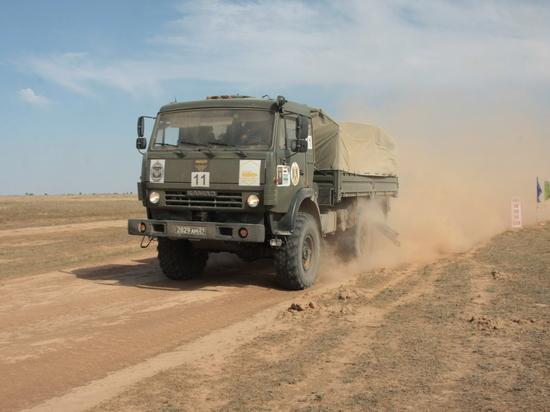 В конце апреля в Калмыкию доставят военную бронетехнику