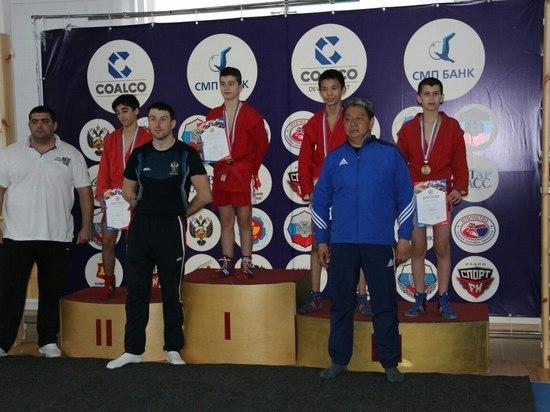 Самбисты из Калмыкии завоевали себе путевки на первенство России