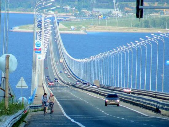 В Ульяновске на Президентском мосту снимут зимнее ограничение скорости