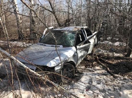 В Красноармейском районе автомобиль вылетел в кювет, водитель погиб