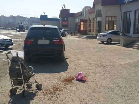 В Сызрани водитель на иномарке наехал на детскую коляску, пострадал 2-летний малыш