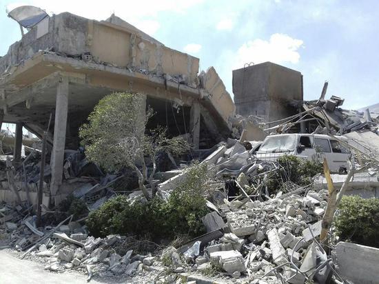 СМИ: авиабаза с российскими военнослужащими около Дамаска подверглась ракетному обстрелу
