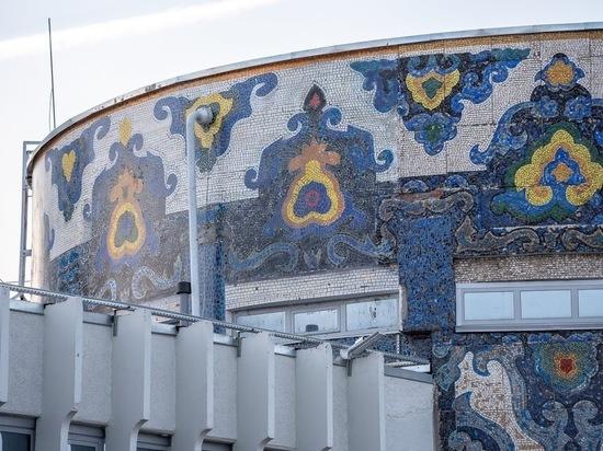 Мозаику на «Тюбетейке» сделали из разрезанной фотографии