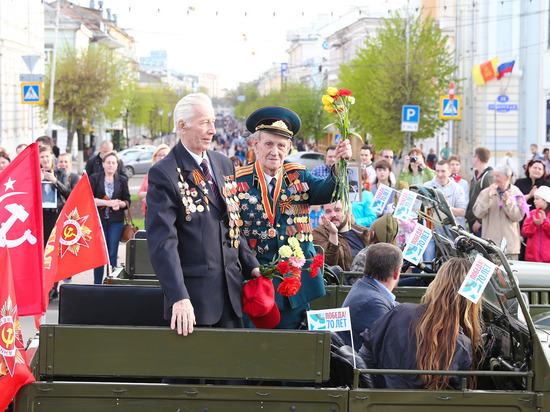 В четырех городах Тверской области 9 Мая пройдут военные парады и показы боевой техники