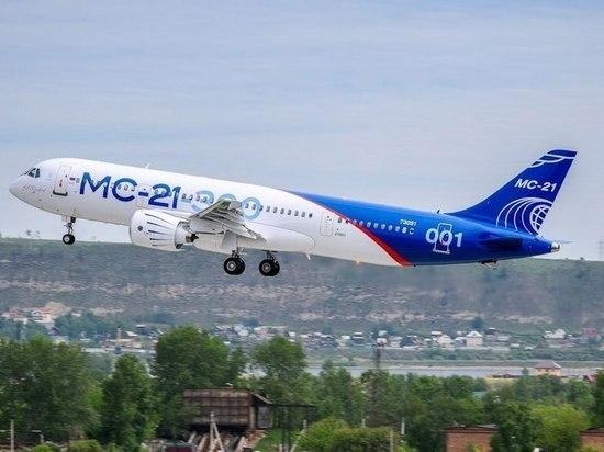 Подписан договор напоставку первого самолета МС-21