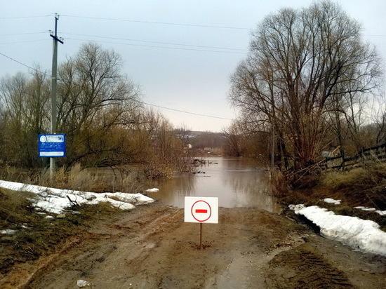 Затопленные населенные пункты Татарстана освободились отводы